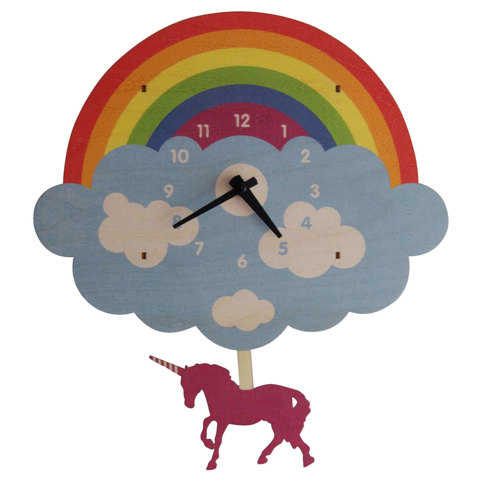 Unicorn pendulum clock | Baby Sick | Pinterest | Pendulum clock ...