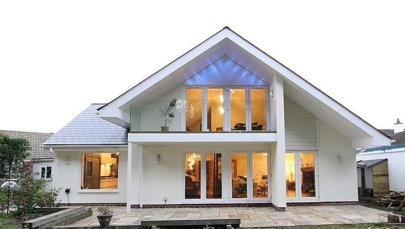 Image result for pictures of chalet bungalows and balcony for Chalet style bungalow images