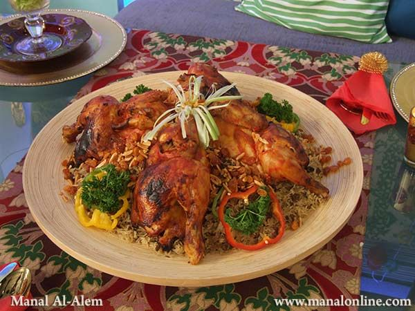 اوزي الدجاج Recipes Food Cuisine