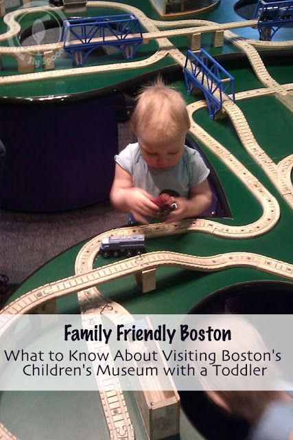 What to Know About Visiting Boston's Children's Museum with a Toddler