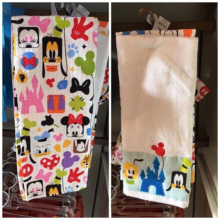 New Disney kitchen towels from Disneyland | Disney home ...