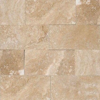 3x6 Tuscany Ivory Travertine Subway Pattern Honed Tile Travertine Mosaic Tiles Travertine Tile Beveled Subway Tile