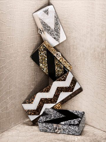 Edie Parker clutches. Want... all of them... in every color possible.