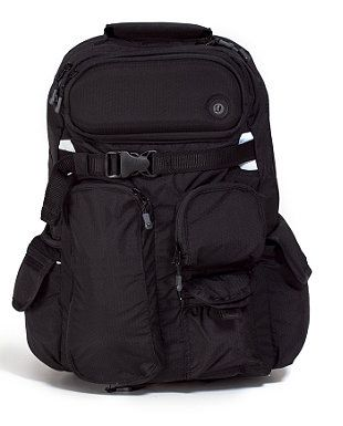 ab3ec9ecba43 Lululemon Cruiser Backpack   Best backpack ever in classic black with lots  of compartments.