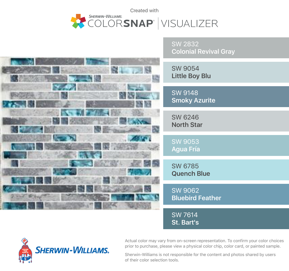 I Found These Colors With Colorsnap Visualizer For Iphone By Sherwin Williams Colonial Revival Gray Sw 283 Sherwin Williams Paint Colors For Home Aqua Paint