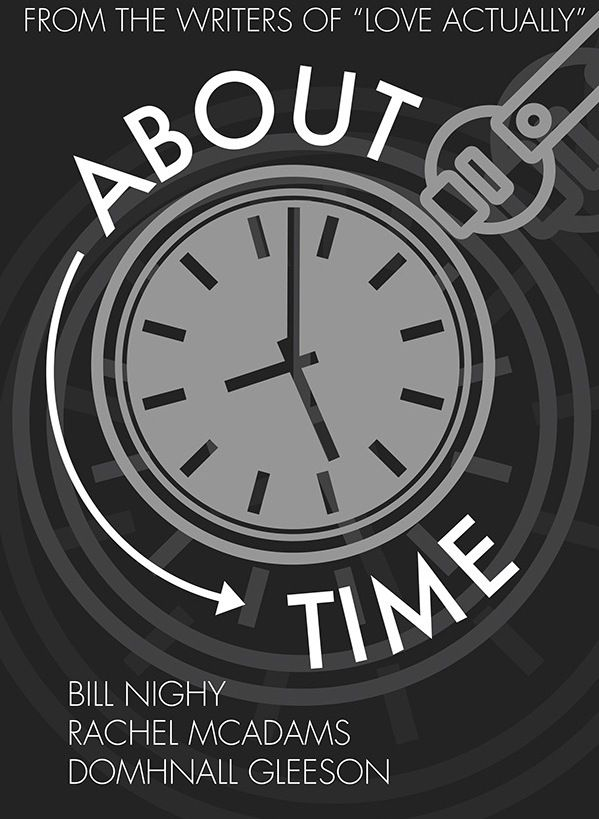 About Time (2013) ~ Minimal Movie Poster by Emily Howell #amusementphile