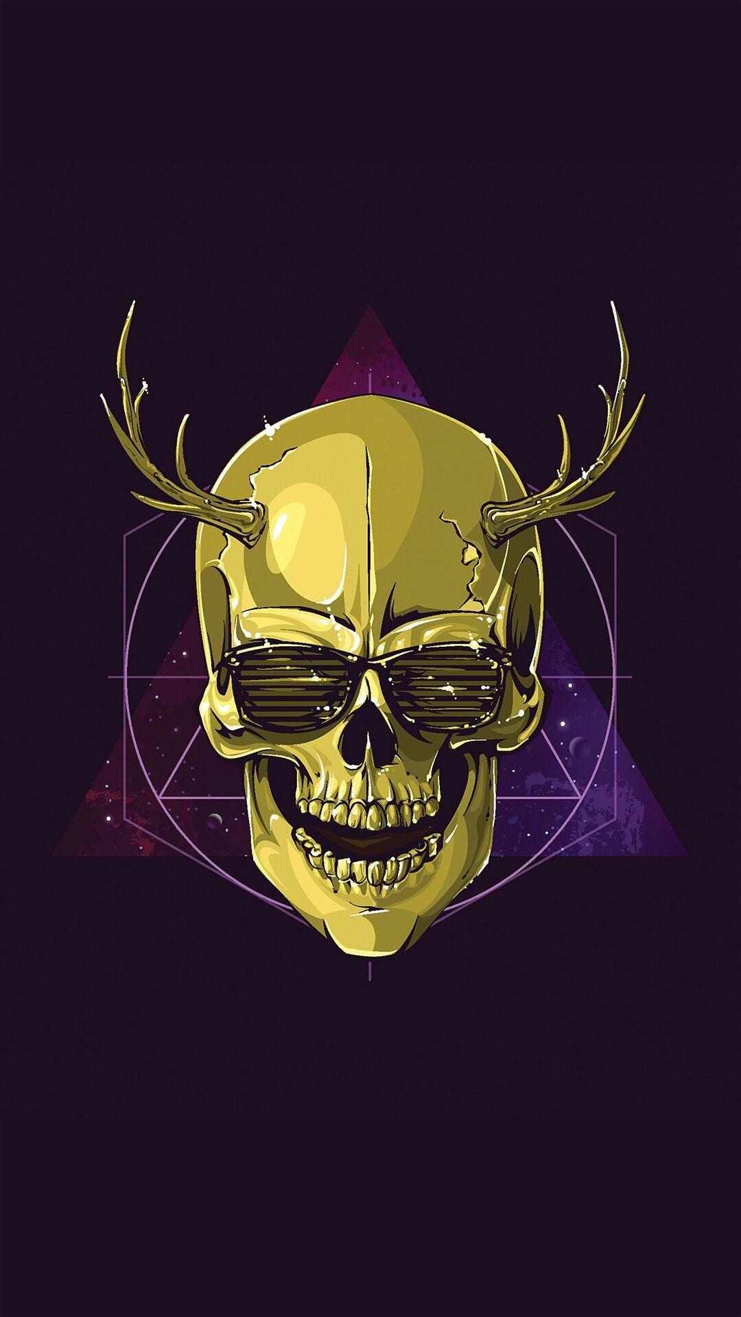 Pin by Amy James on Artwork: Skulls | Skull wallpaper ...