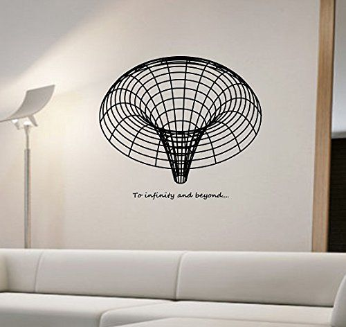 black hole wall decal vinyl art home decor space science education