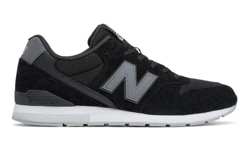 660 New Balance 996 Revlite Hommes De Course Noir Gris Blanc Pas Cher  summer apparel sale