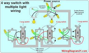 wiring a light switch to multiple lights and plug에 대한 ... on