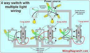 Wiring A Light Switch To Multiple Lights And Plug에 대한 이미지 검색결과 Light Switch Wiring Electrical Wiring Diagram 4 Way Light Switch