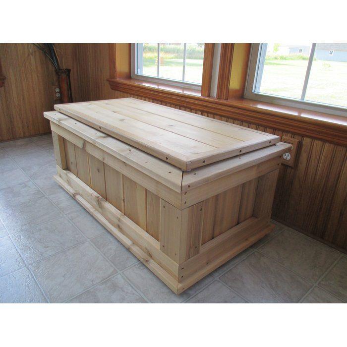 Fine Guillaume Premium Quality Indoor Outdoor Cedar Storage Bench Machost Co Dining Chair Design Ideas Machostcouk