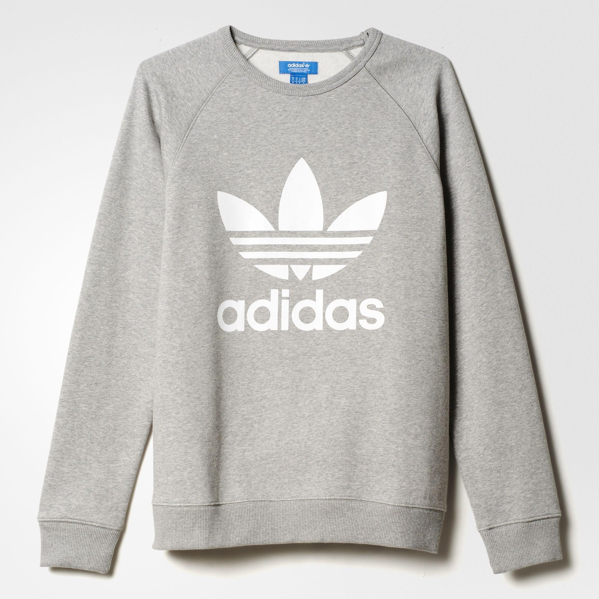 adidas pullover grau weiß