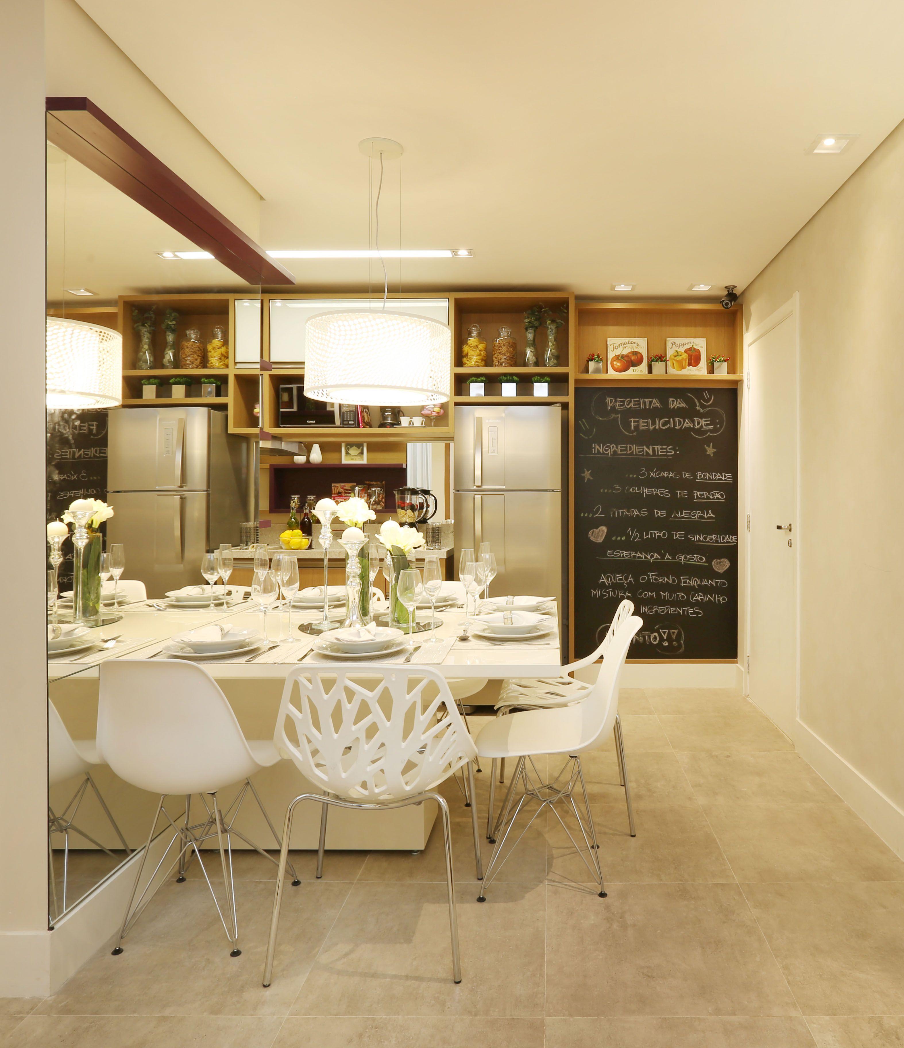 Cozinha Aberta Integrada A Sala De Jantar Cozinhaamericana