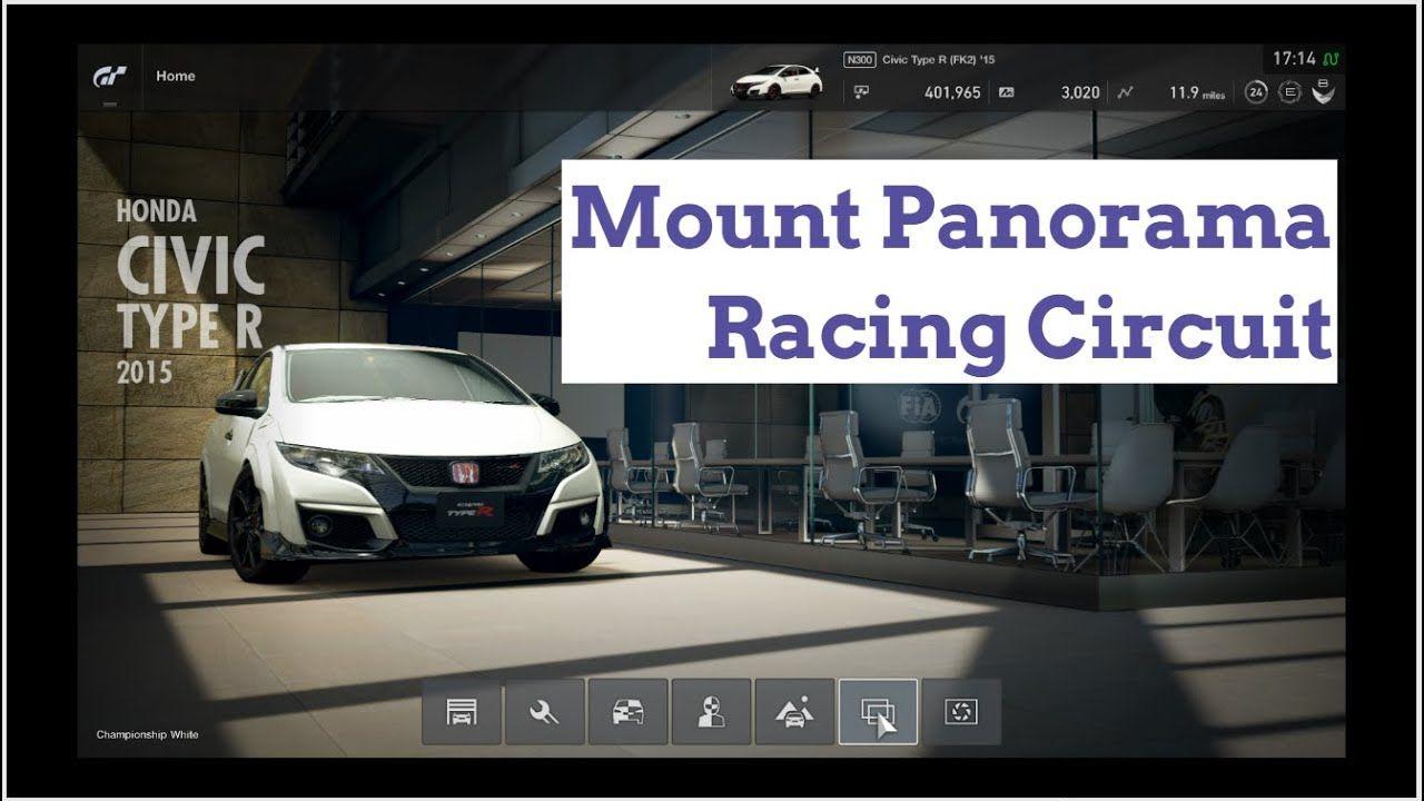 Gran Turismo Sport 2015 Honda Civic Type R Mount