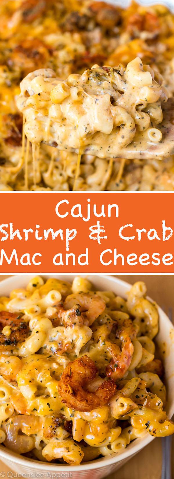 Cajun Shrimp and Crab Mac and Cheese ~ Recipe | Queenslee Appétit