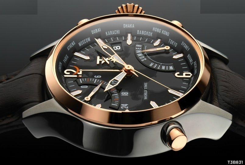 7c2116f7a Details about TX Luxury Mens 800 Series Linear Chronograph SS Black ...