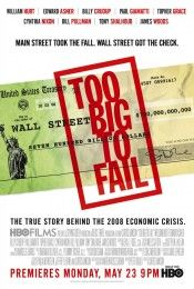 Film review: Too Big to Fail (2011).