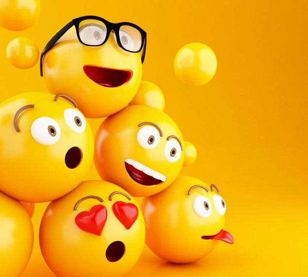 3d Emojis Icons With Facial Expressions World Emoji Day Emoji Images Emoji Wallpaper