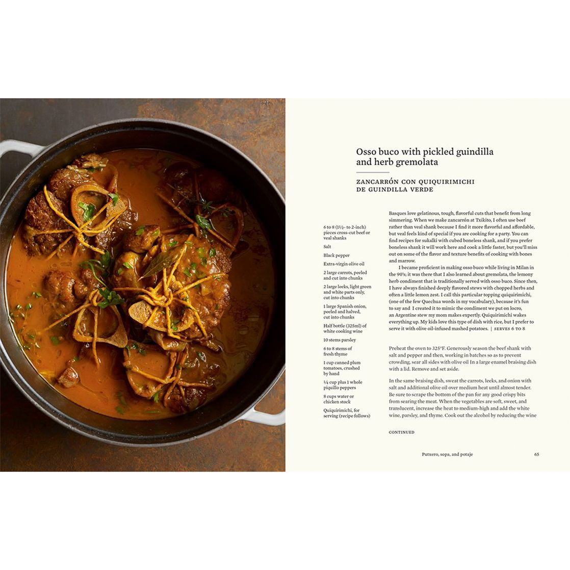 The Basque Book: A Love Letter in Recipes From the Kitchen Of ...