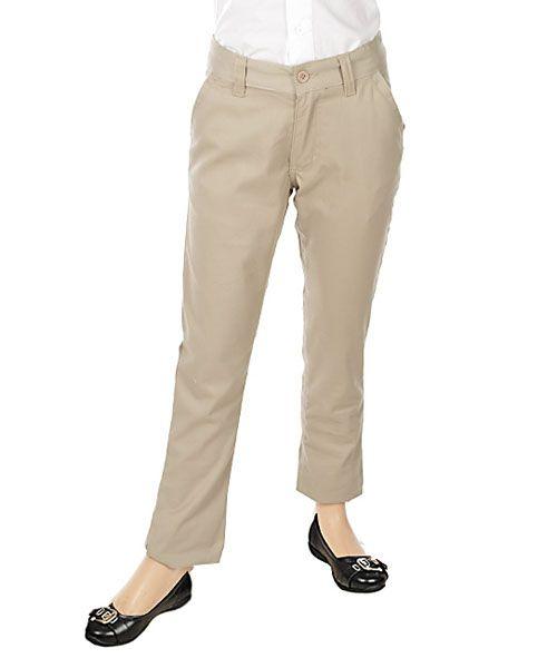 hot sale online 89e48 faefa U.S. Polo Assn. Big Girls' Twill Skinny Pants (Sizes 7 – 16 ...