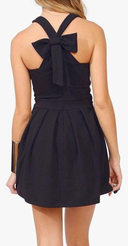 Bow back dress   Gloss Fashionista