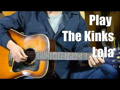 4 Simple Chords - Guitar Lessons - The Kinks - Lola - How to Play ...