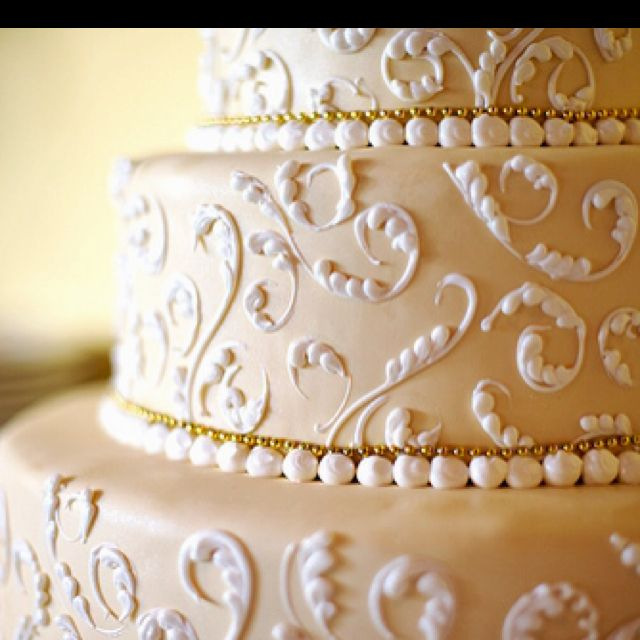 This is you - My Wedding cake is going to look beautiful on the outside and have funfetti on the inside :)