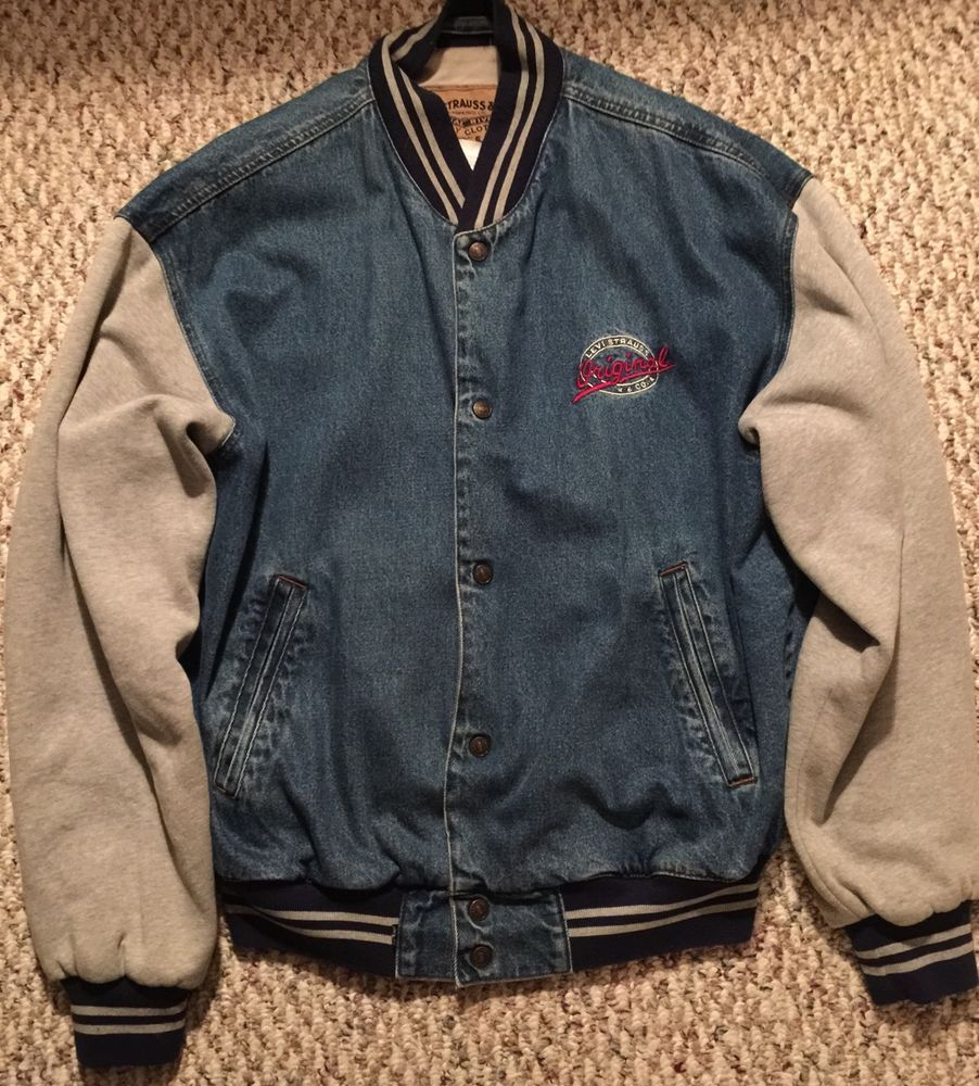 Levis Original Vintage 80s Men S Denim Jacket Large Denim Coat Jacket Denim Jacket Men Denim [ 1000 x 902 Pixel ]