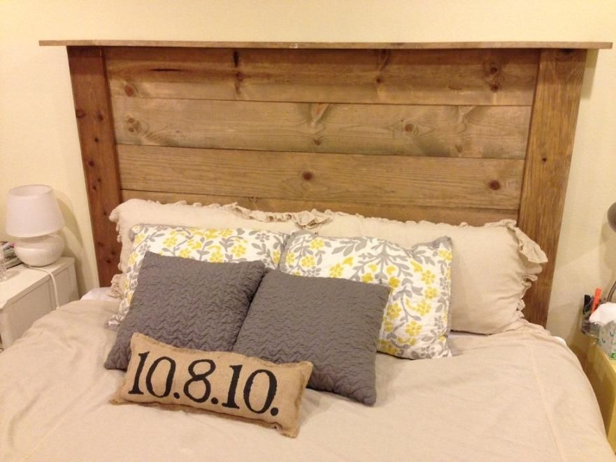 How to Make a Vintage Wood Headboard at PlumberSurplus.com | For the ...