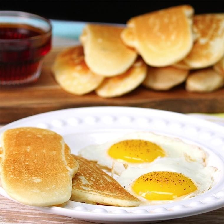 Buffet Pancake Dippers Make Your Breakfast Dunkable - Shared