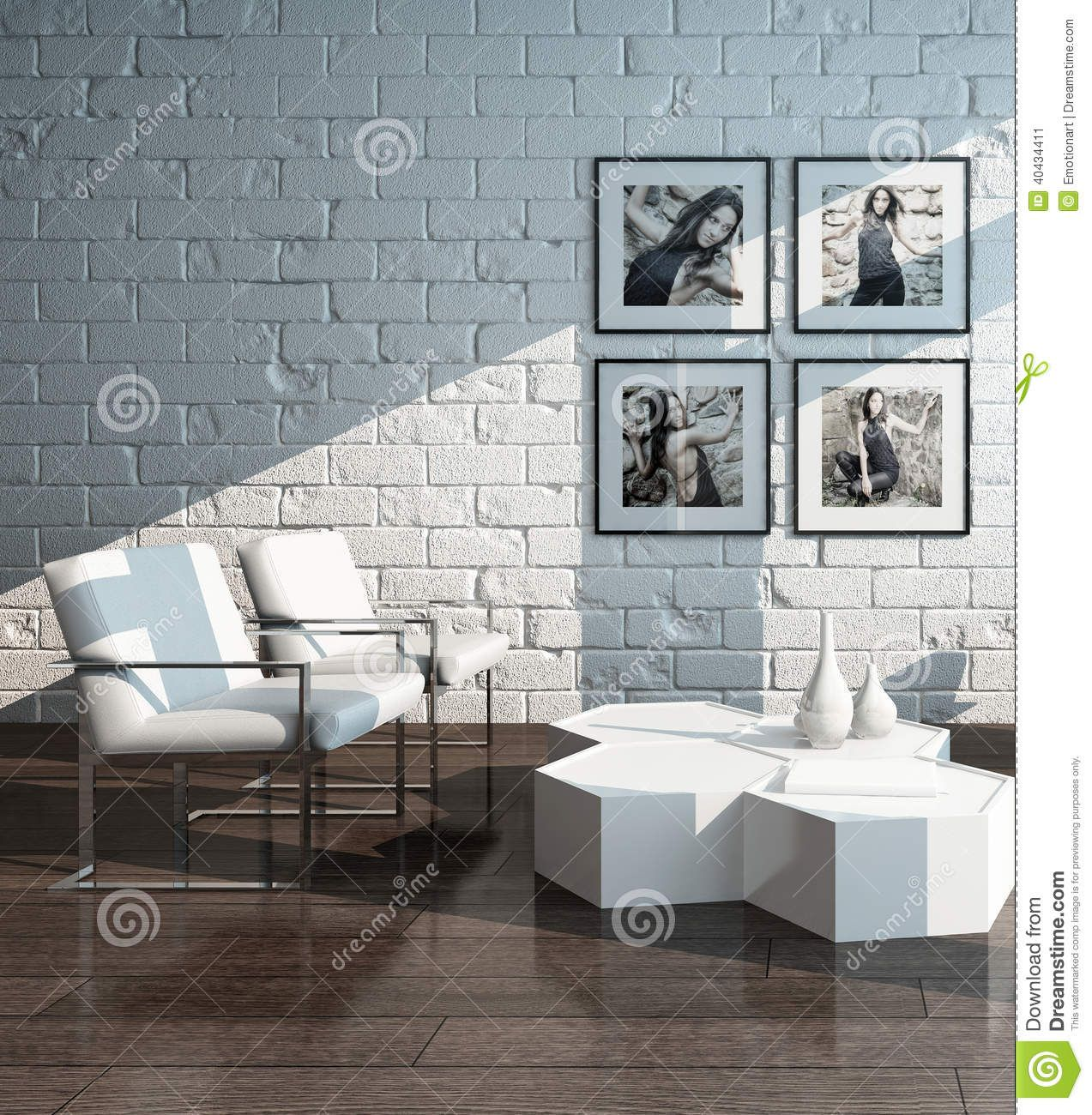 30 Best Ideas About Living Rooms With White Brick Walls With