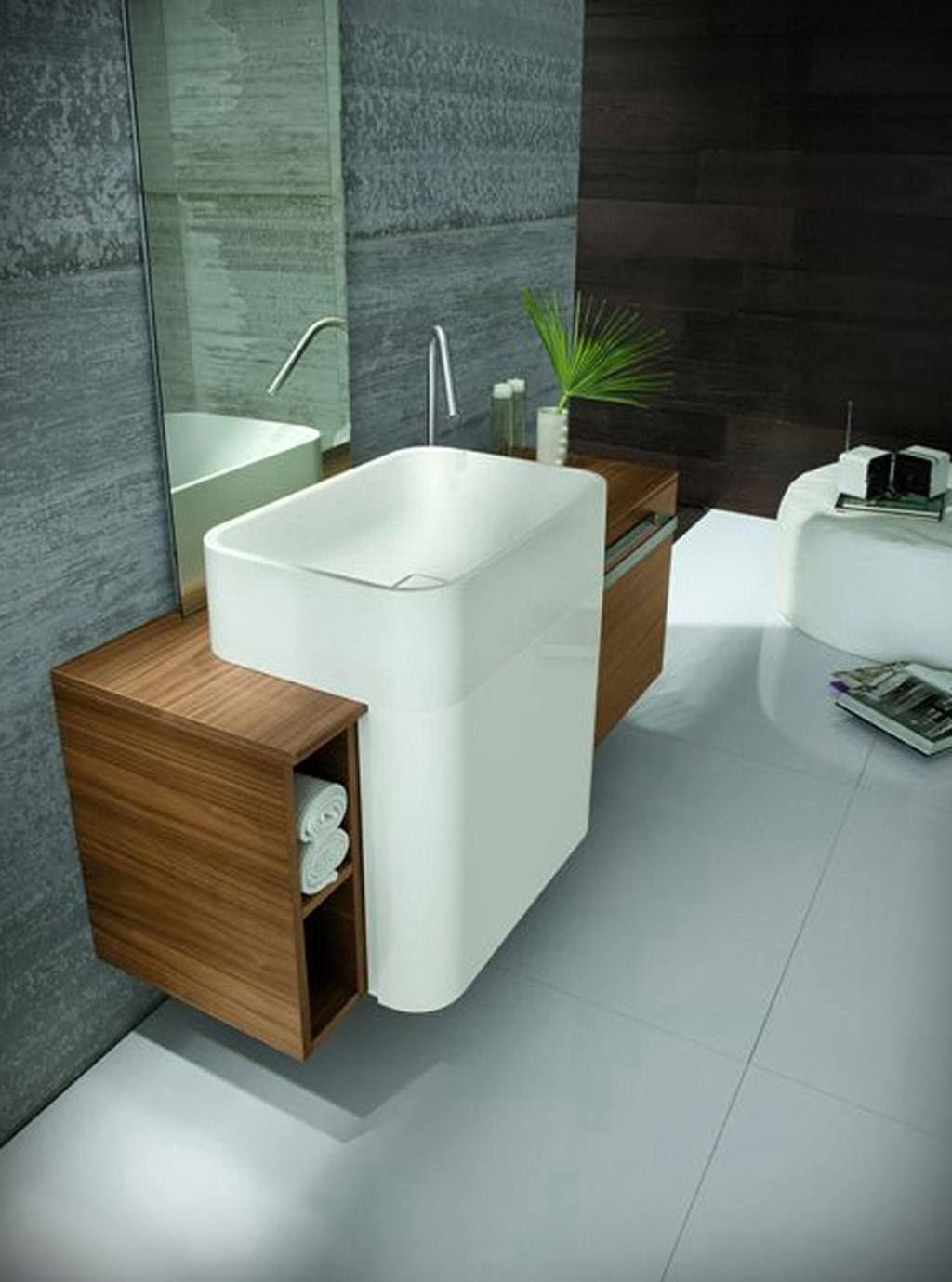 small sink vanity for small bathrooms%0A Small Bathroom Interior Decorating Brilliant Small Bathroom Minimalist With u