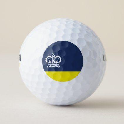 Flag of Regina Saskatchewan Golf Balls