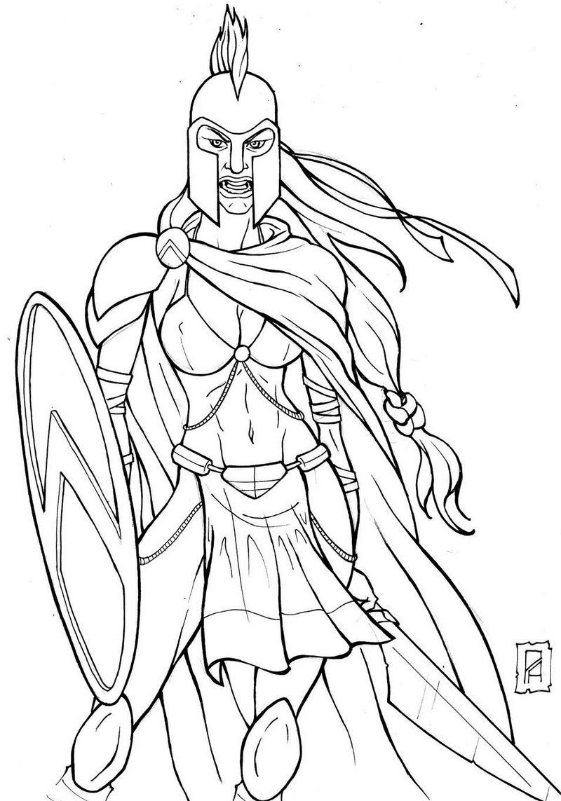 Gladiator By Kartinka75 On Deviantart Warrior Drawing Superman Coloring Pages Concept Art Drawing
