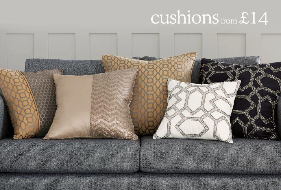 cushions throws home furnishings home furniture. Black Bedroom Furniture Sets. Home Design Ideas