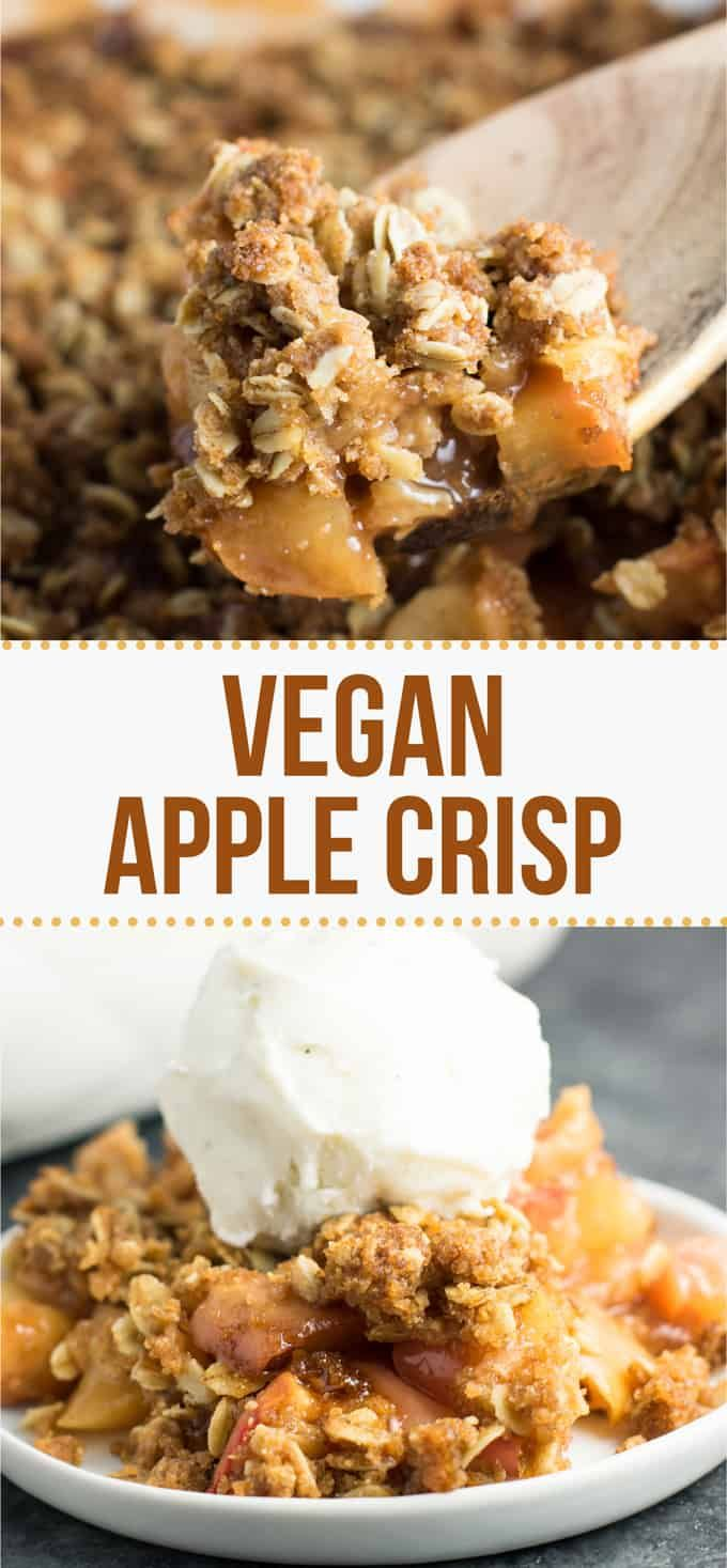 The Best Vegan Apple Crisp Recipe - Build Your Bite