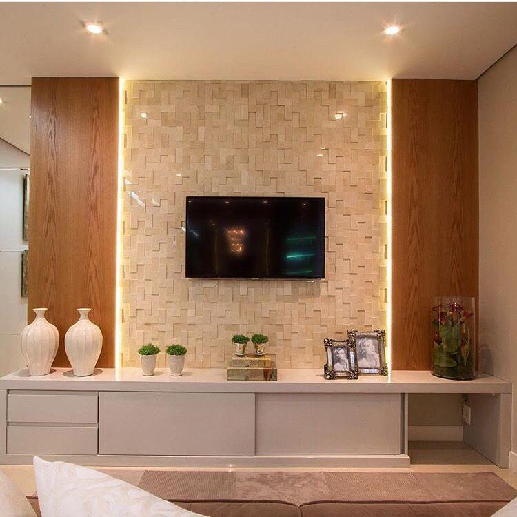 Tv Schränke Design painel de tv living room