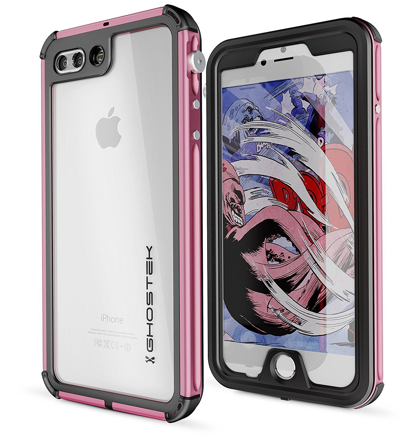 4f32fb66c172 Discover ideas about Apple Iphone. Ghostek Atomic 3 Extreme Rugged  Waterproof Case for iPhone 7 iPhone 8
