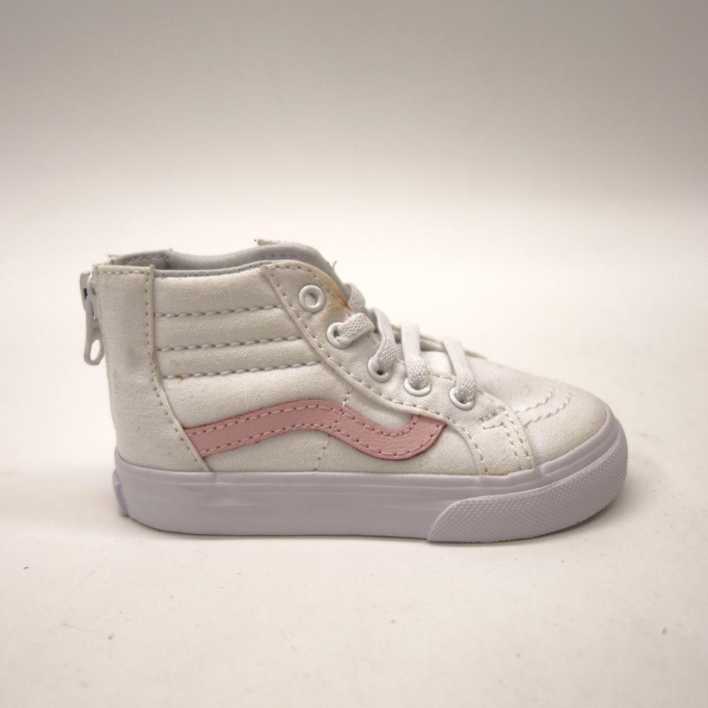 New Vans Kids Chalk Pink Classic Zipper Up Sk8-Hi High Top Sneaker Shoes  Size 6  VANS  CasualShoes 011d9e6056