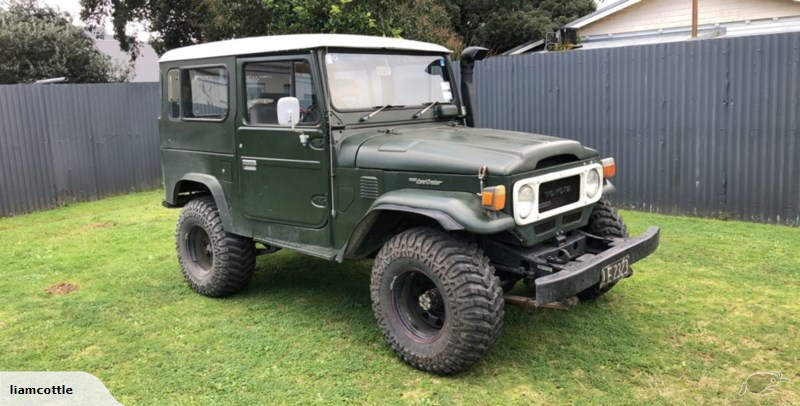 1983 Toyota Land Cruiser BJ42 Trade Me (With images