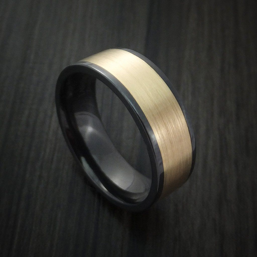 Pin by Chris Drinkwater on Wedding Bands Black zirconium