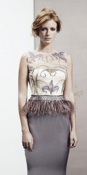 Reem Juan ⎯ Garbo dress www.reemjuan.com