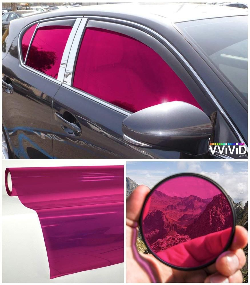 Car Window Tinting Durable Privacy Transparent Vinyl Film 30 X60
