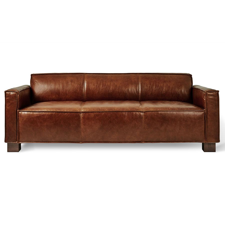 Best Cabot Sofa Saddle Brown Leather In 2019 Modern Leather 400 x 300
