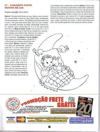 PINTURA EM TECIDO INFANTIL Nº 50 - Aurelia Souza - Álbuns da web do Picasa