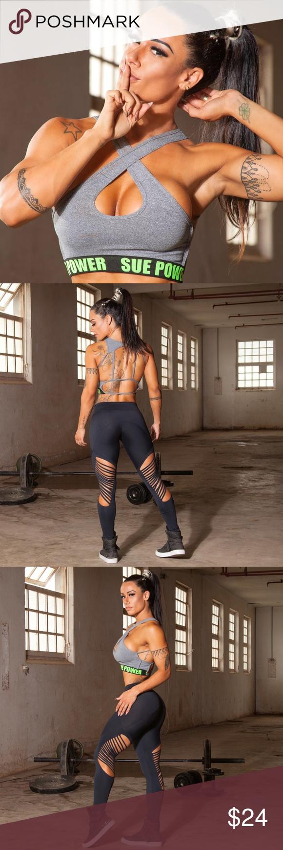 Brazilian Supplex Sports Bra Womens Athletic Wear Boutique