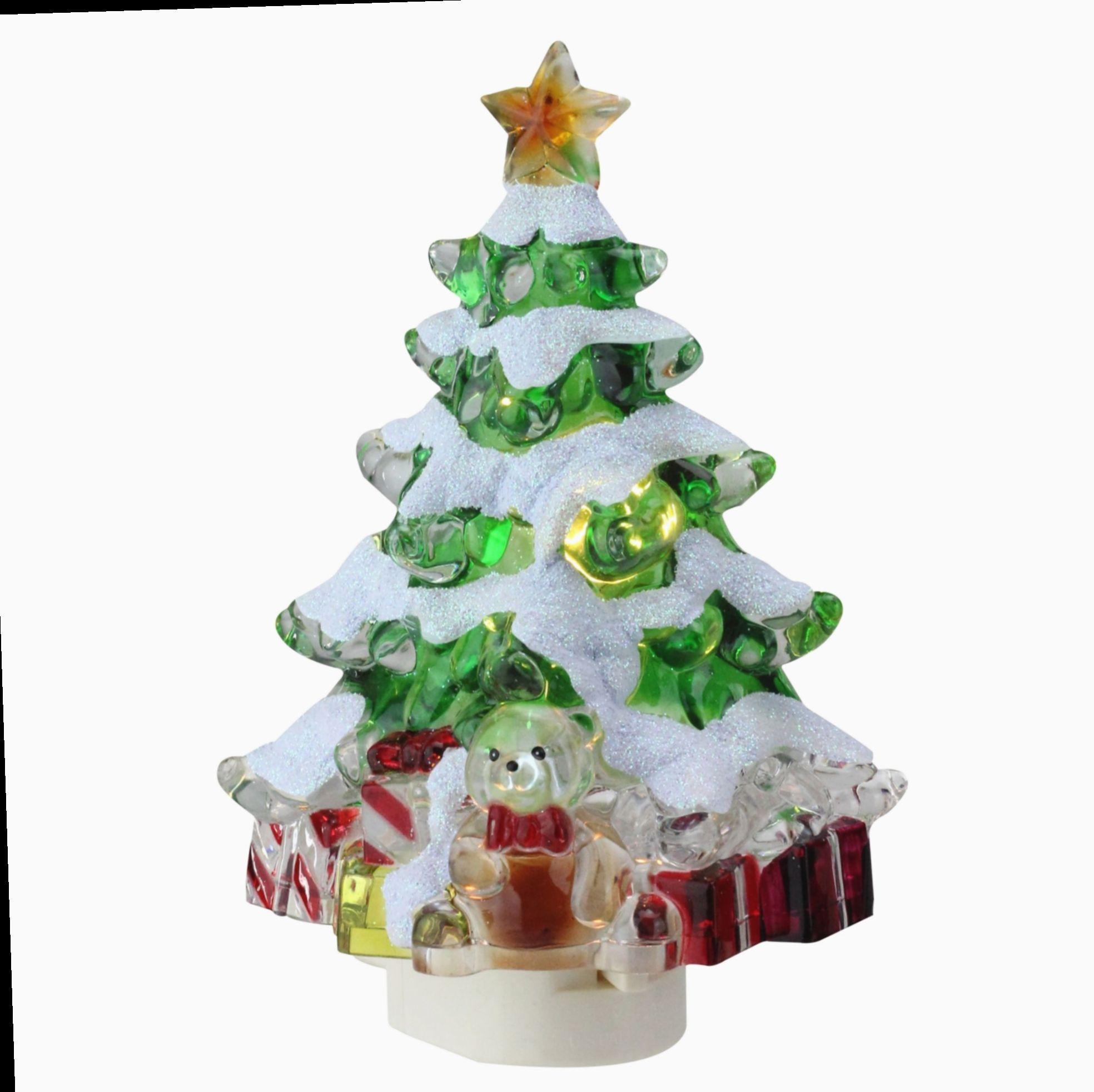 Christmas Eve Porcelain Figurine Decorative Night Light by Appletree