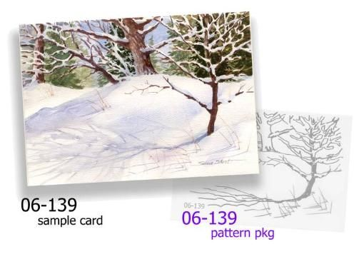 Winter landscape greeting cards holiday cards in watercolor pg1 winter landscape greeting cards holiday cards in watercolor pg1 m4hsunfo