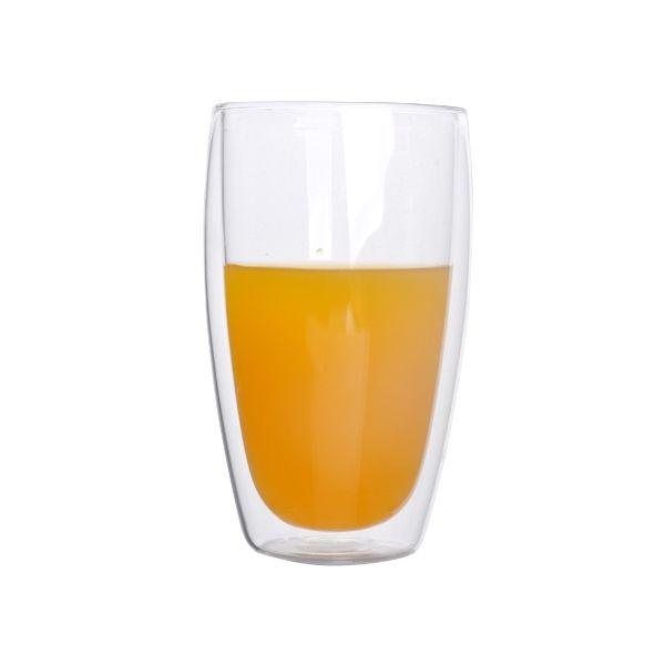 double wall tea glass-double wall juice glass cup-high borosilicate double wall glass